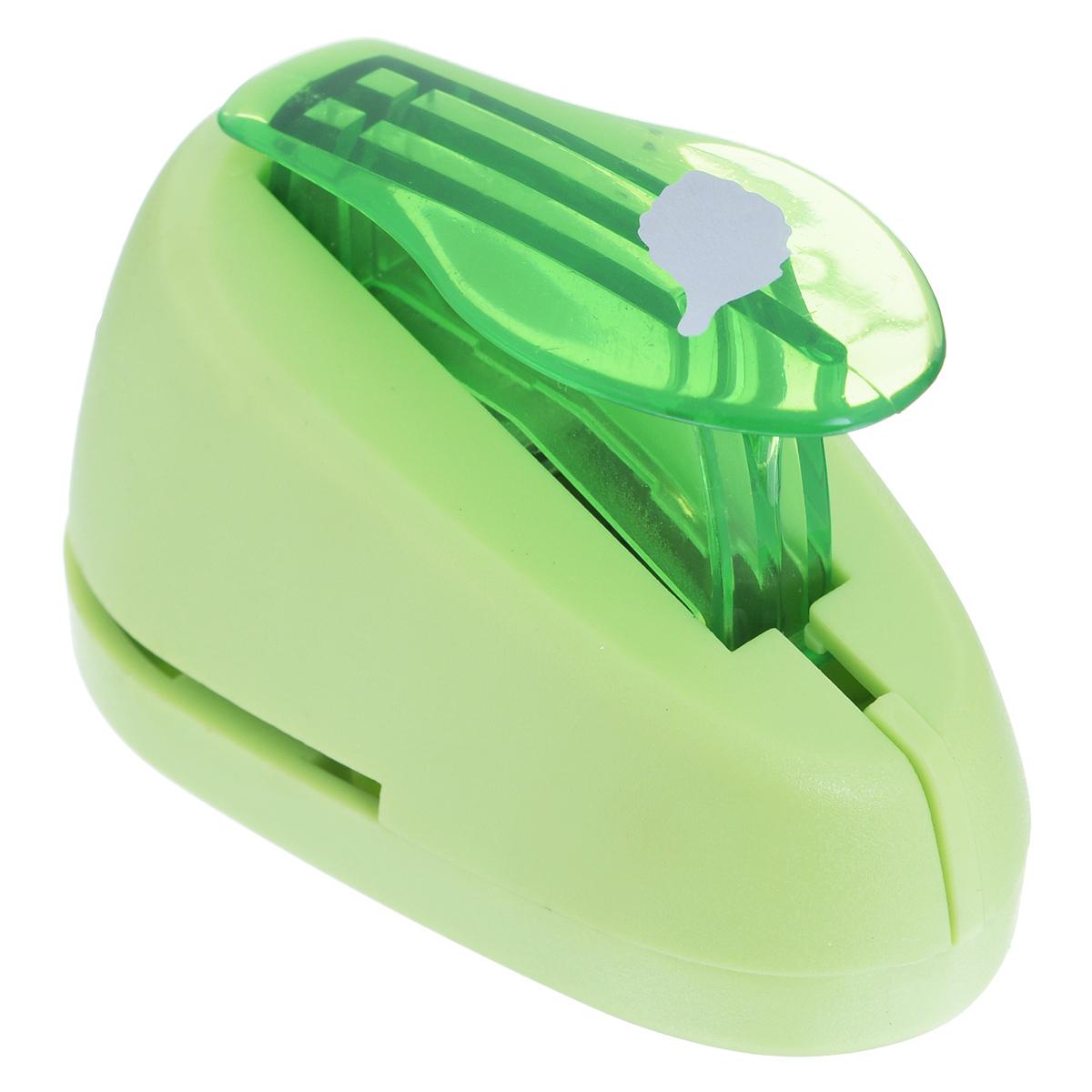 Дырокол фигурный Астра Листок. CD-99S7709603_62Дырокол Астра Листок поможет вам легко, просто и аккуратно вырезать много одинаковых мелких фигурок. Режущие части компостера закрыты пластмассовым корпусом, что обеспечивает безопасность для детей.Можно использовать вырезанные мотивы как конфетти или для наклеивания.Дырокол подходит для разных техник: декупажа, скрапбукинга, декорирования.Размер дырокола: 7 см х 4 см х 5 см. Размер готовой фигурки: 1,5 см х 0,7 см.