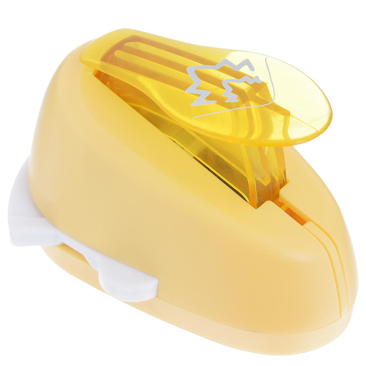 Дырокол фигурный Астра Зигзаги, угловой. CD-99MA7709609_14Дырокол Астра Зигзаги поможет вам легко, просто и аккуратно вырезать много одинаковых мелких фигурок. Режущие части компостера закрыты пластмассовым корпусом, что обеспечивает безопасность для детей. Вырезанные фигурки накапливаются в специальном резервуаре. Можно использовать вырезанные мотивы как конфетти или для наклеивания.Угловой дырокол подходит для разных техник: декупажа, скрапбукинга, декорирования.Размер дырокола: 8 см х 6 см х 5 см. Размер готовой фигурки: 2,5 см х 2 см.