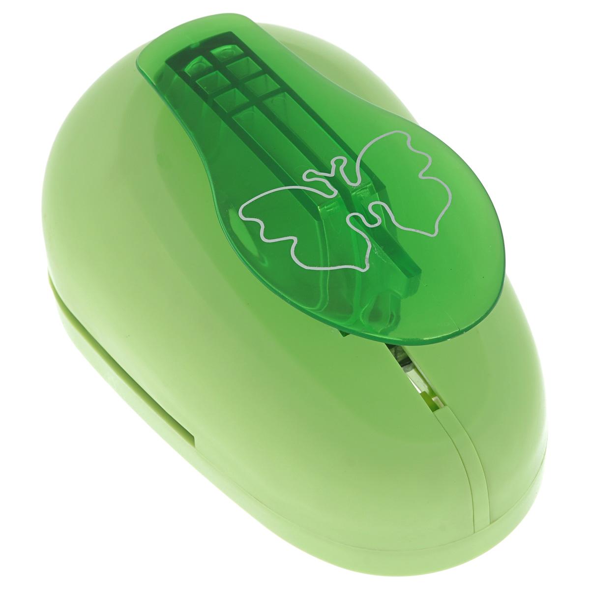 Дырокол фигурный Астра Бабочка. 7709611_447709611_44 - бабочкаДырокол Астра Бабочка, изготовленный из прочного металла и пластика, поможет вам легко, просто и аккуратно вырезать много одинаковых мелких фигурок.Режущие части компостера закрыты пластиковым корпусом, что обеспечивает безопасность для детей.Вырезанные фигурки в виде бабочек накапливаются в специальном резервуаре. Можно использовать вырезанные мотивы как конфетти или для наклеивания. Дырокол подходит для разных техник: декупажа, скрапбукинга, декорирования. Размер дырокола: 15 см х 10 см х 8 см.Размер готовой фигурки: 6,5 см х 5 см.