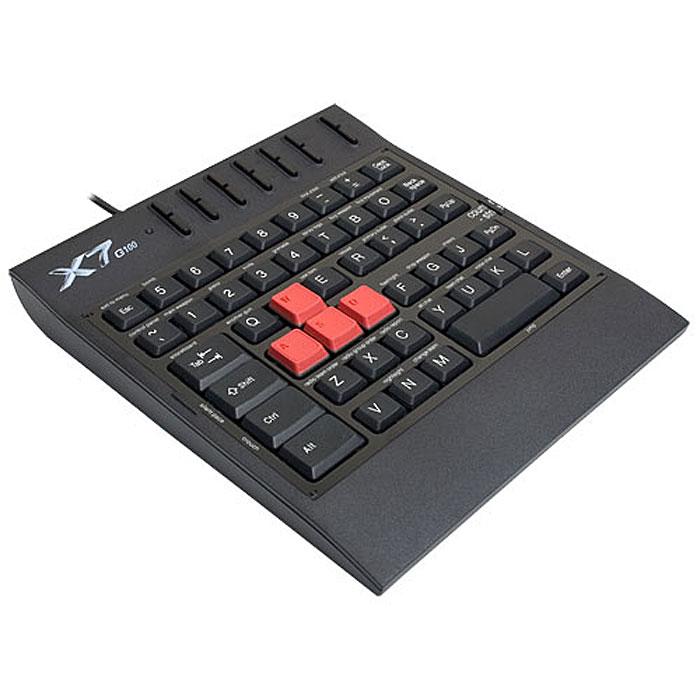 A4Tech X7-G100, Black игровой блок