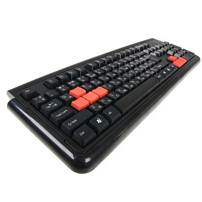 A4Tech X7-G300 PS/2, Black клавиатура