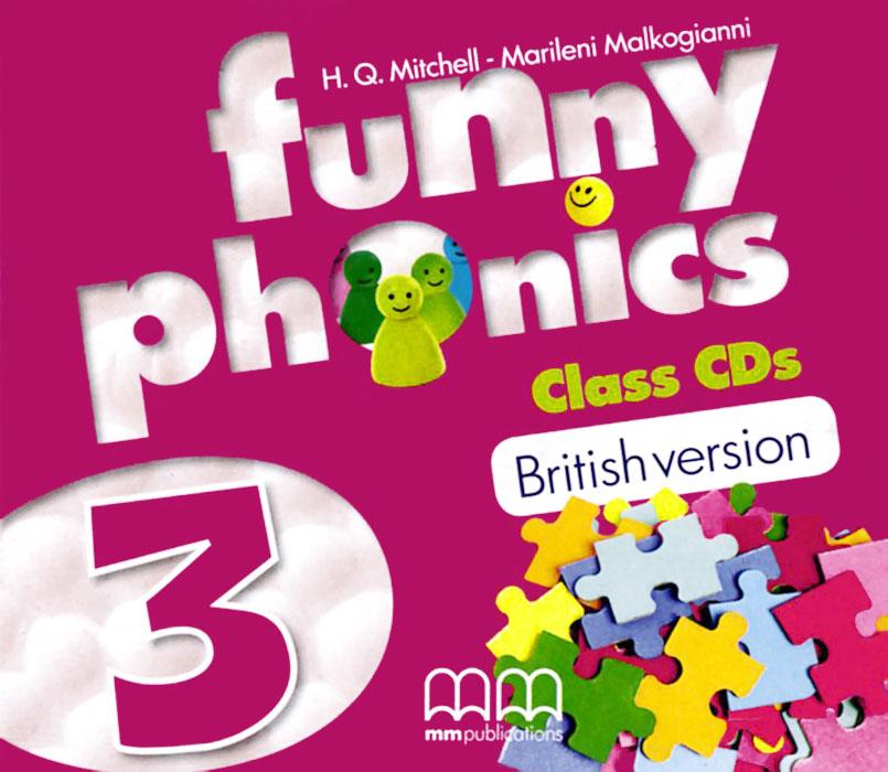 Funny Phonics 3 (аудиокурс на 2 CD) h q mitchell marileni malkogianni funny phonics 2 activity book cd rom