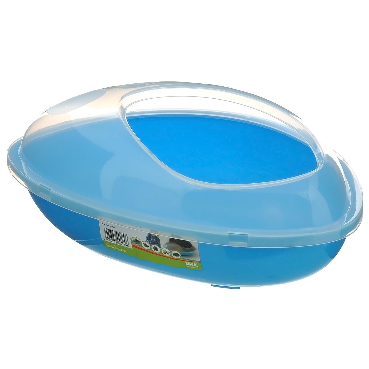Купалка для шиншилл  Savik , цвет: голубой, 35 х 23 х 15 см - Товары для ухода (груминг)