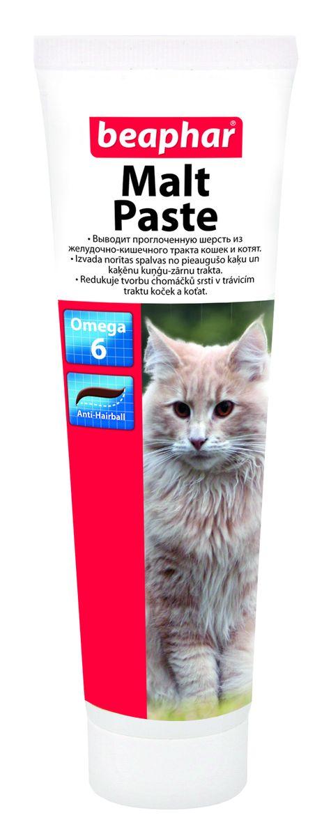 Паста для вывода шерсти из желудка Beaphar  Malt Paste , для кошек, 100 г - Ветеринарная аптека