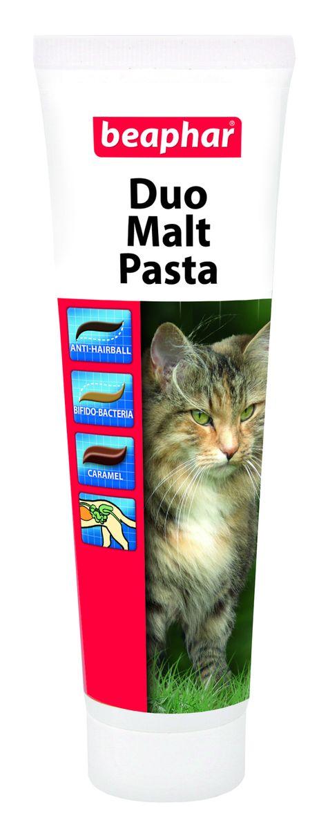 Паста для вывода шерсти из желудка Beaphar  Duo Malt Pasta , 100 г - Ветеринарная аптека