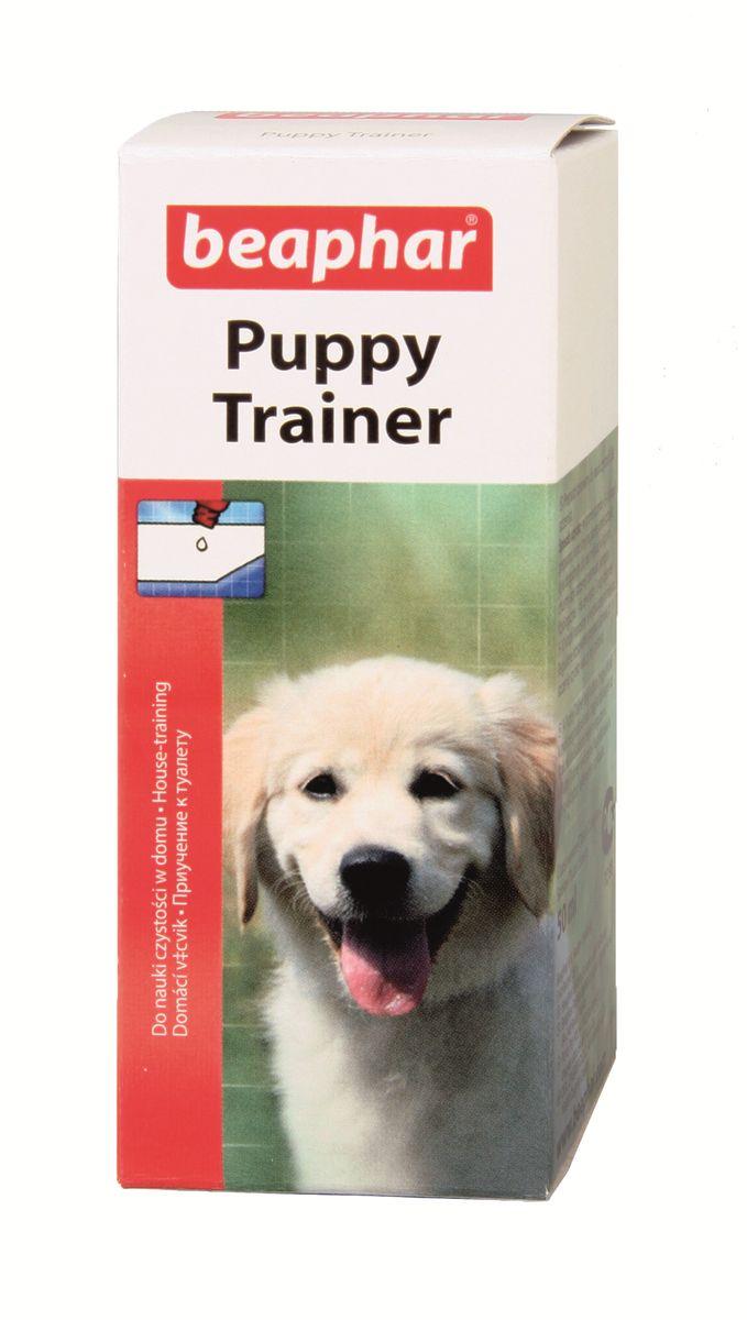 Средство для приучения к туалету Beaphar Puppy Trainer, для щенков, 50 мл beaphar beaphar mausertropfen витаминные капли для птиц в период линьки 50 мл
