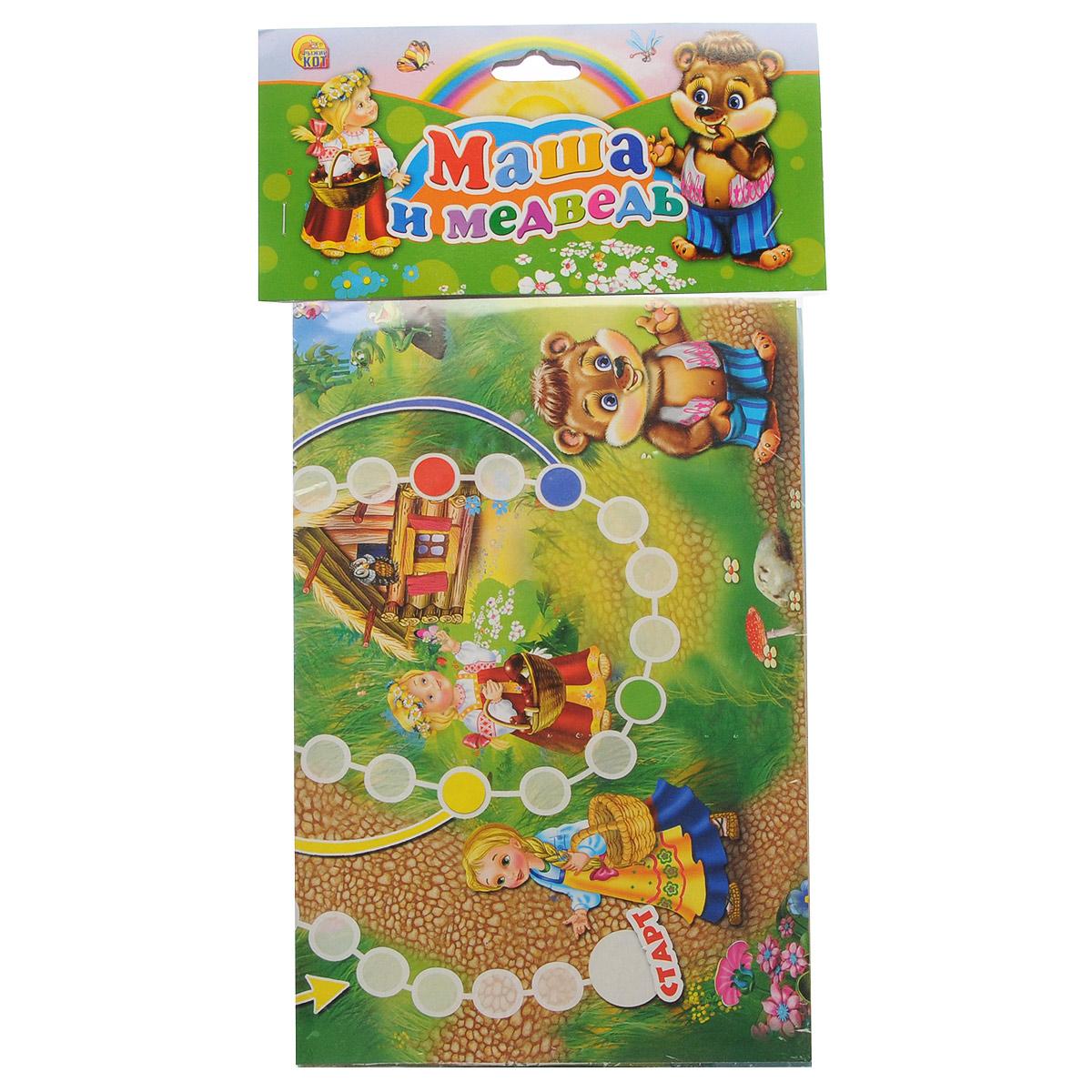 Маша и Медведь. Настольная игра развивающая игра на магнитах календарь природы маша и медведь