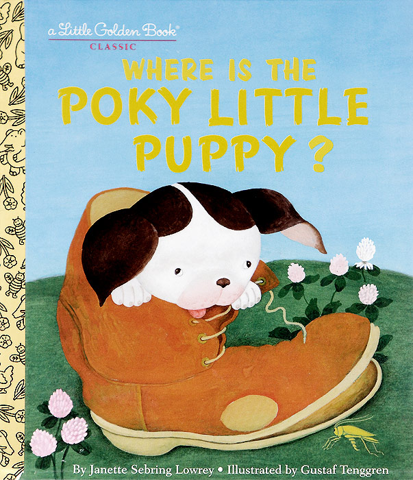 Where Is the Poky Little Puppy? the little book of batman