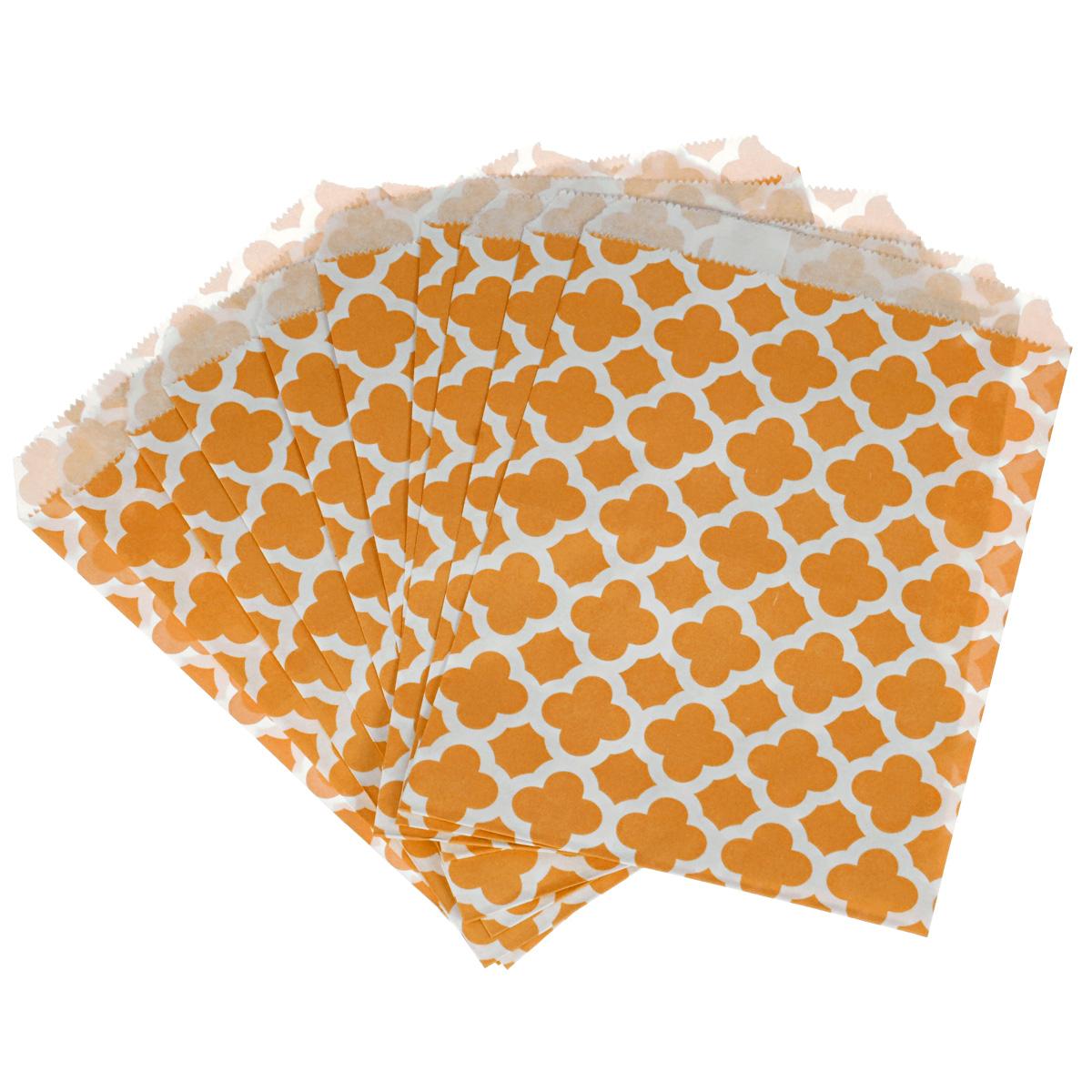 Пакеты бумажные Dolce Arti Arabesque, для выпекания, цвет: оранжевый, 10 штDA040208Бумажные пакеты Dolce Arti Arabesque очень многофункциональны. Их можно использовать насколько хватит вашей фантазии: для выпекания, для упаковки маленьких подарков, сладостей и многого другого. Размер: 13 см х 18 см.