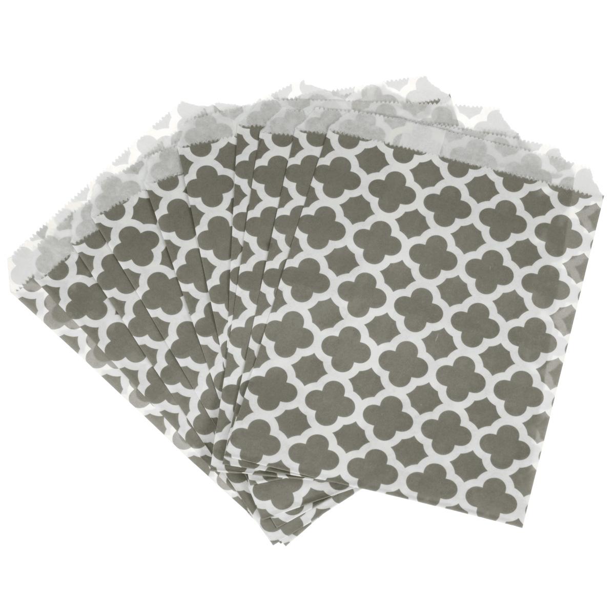 Пакеты бумажные Dolce Arti Arabesque, для выпекания, цвет: серый, 10 штDA040207Бумажные пакеты Dolce Arti Arabesque очень многофункциональны. Их можно использовать насколько хватит вашей фантазии: для выпекания, для упаковки маленьких подарков, сладостей и многого другого. Размер: 13 см х 18 см.