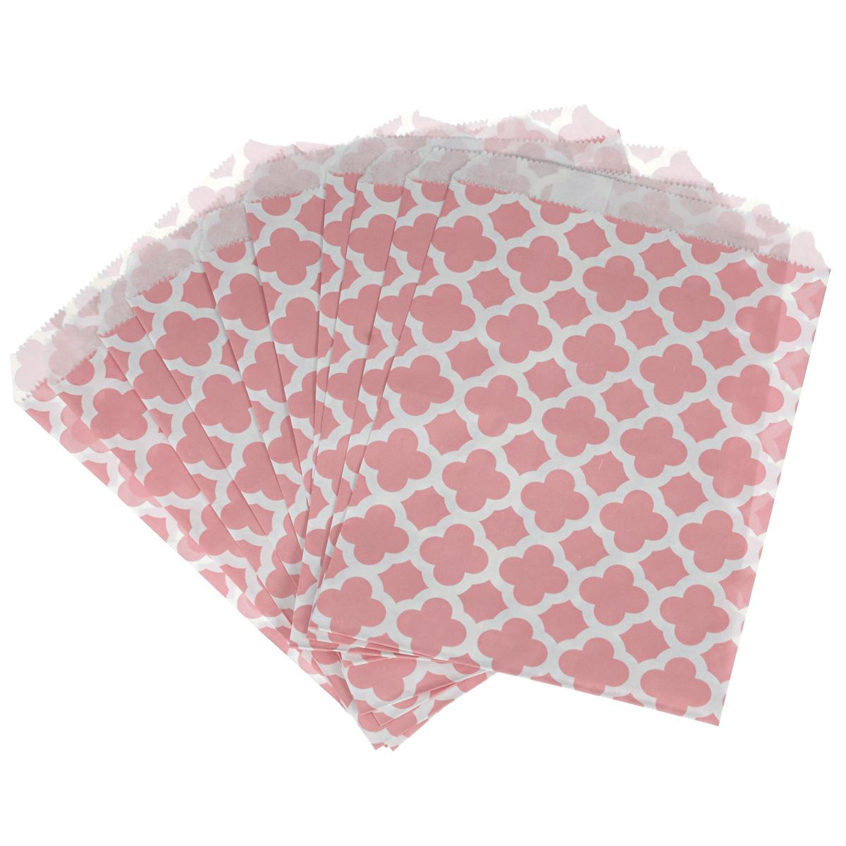Пакеты бумажные Dolce Arti Arabesque, для выпекания, цвет: розовый, 10 штDA040209Бумажные пакеты Dolce Arti Arabesque очень многофункциональны. Их можно использовать насколько хватит вашей фантазии: для выпекания, для упаковки маленьких подарков, сладостей и многого другого. Размер: 13 см х 18 см.