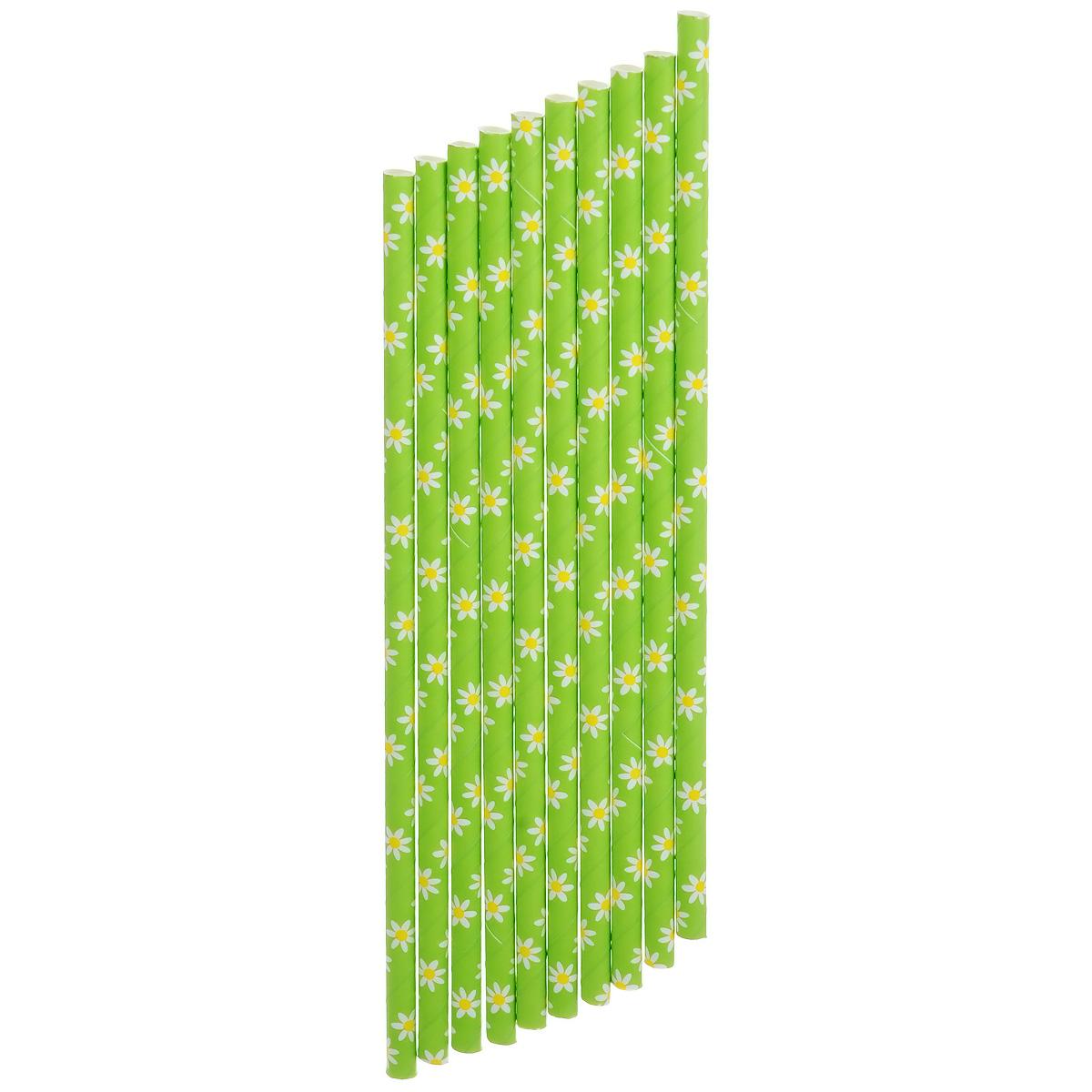 Набор бумажных трубочек Dolce Arti Летняя радость, цвет: салатовый, 10 штDA040221Набор Dolce Arti Летняя радость состоит из 10 бумажных трубочек, предназначенных для напитков. Цветные трубочки станут не только эффектным украшением коктейлей, но и ярким штрихом вашего сладкого стола. С набором Dolce Arti Летняя радость ваш праздник станет по-настоящему красочным!Длина трубочки: 19,5 см. Диаметр трубочки: 5 мм.