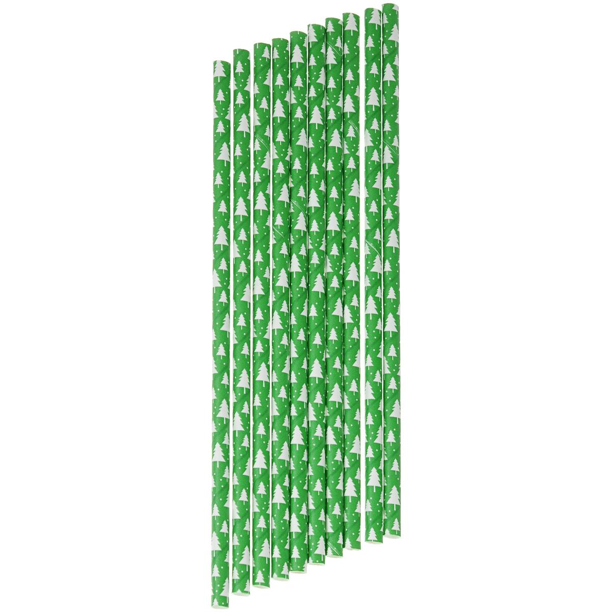 Набор бумажных трубочек Dolce Arti Лесной мотив, цвет: зеленый, 10 штDA040258Набор Dolce Arti Лесной мотив состоит из 10 бумажных трубочек, предназначенных для напитков. Цветные трубочки станут не только эффектным украшением коктейлей, но и ярким штрихом вашего сладкого стола. С набором Dolce Arti Лесной мотив ваш праздник станет по-настоящему красочным!Длина трубочки: 19,5 см. Диаметр трубочки: 5 мм.