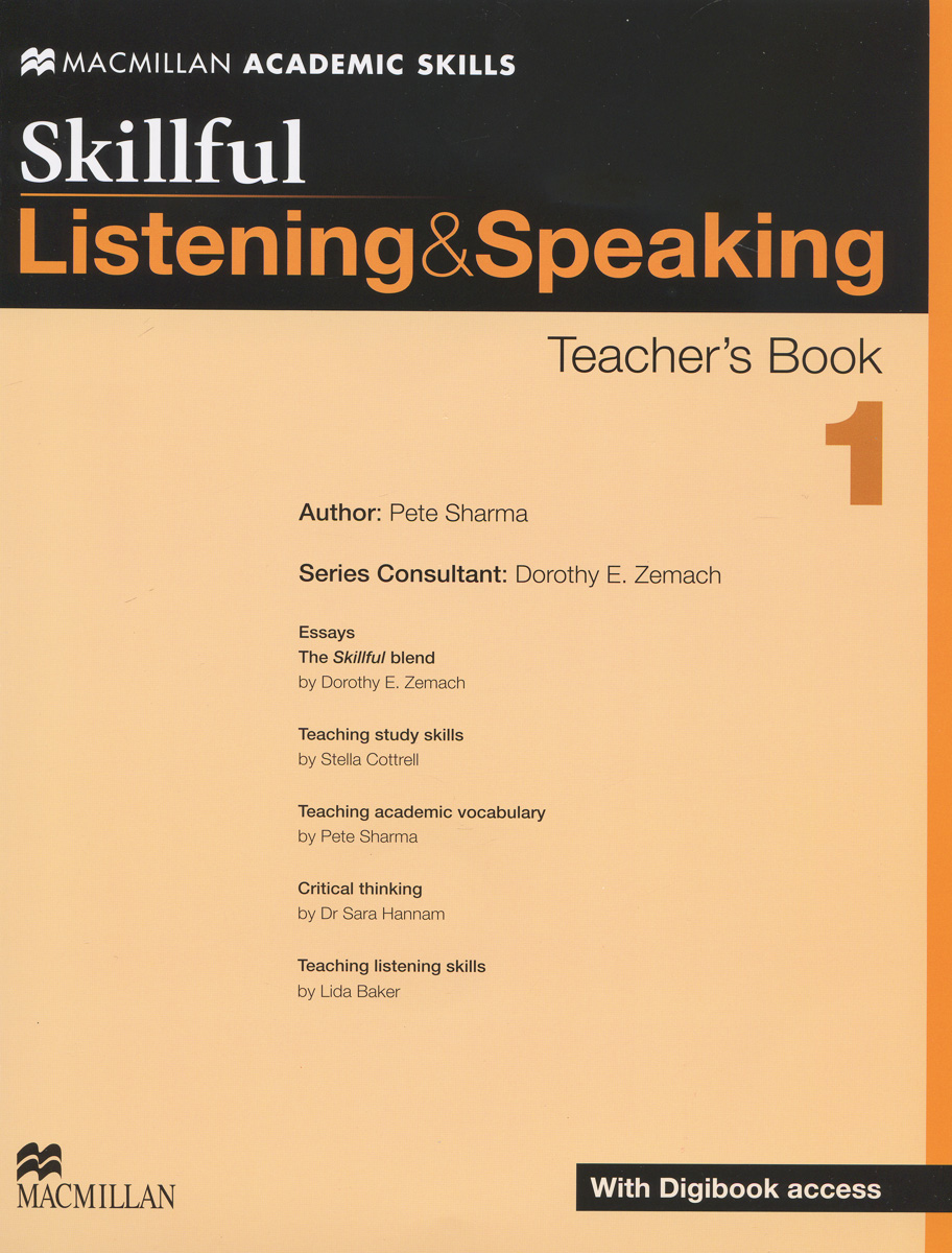 Skillful Pre-intermediate/Level 1Listening and Speaking Teacher's Book + Digibook + Audio CD intermediate chinese listening 2 intermediate chinese listening 2 listening scripts and answer keys комплект из 2 книг cd