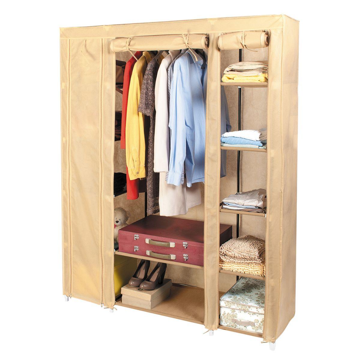 Шкаф для одежды artmoon montreal, цвет: бежевый, 135 см х 45.