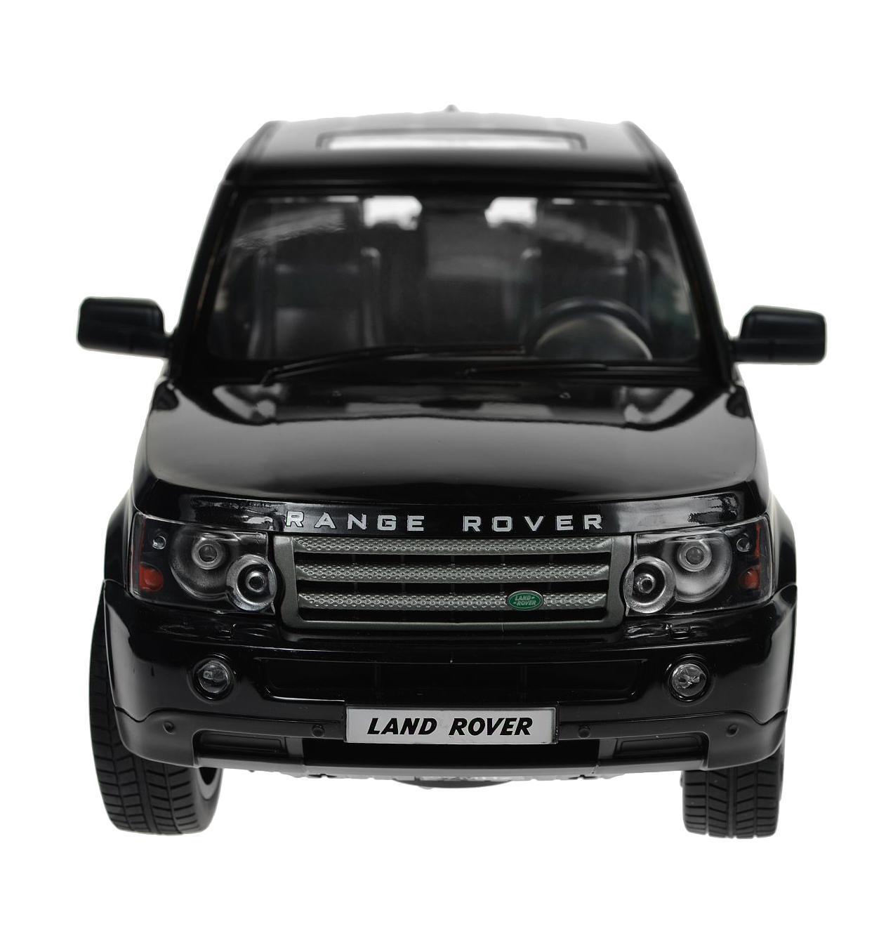 Rastar Радиоуправляемая модель Range Rover Sport цвет черный масштаб 1:14 compurover compu rover