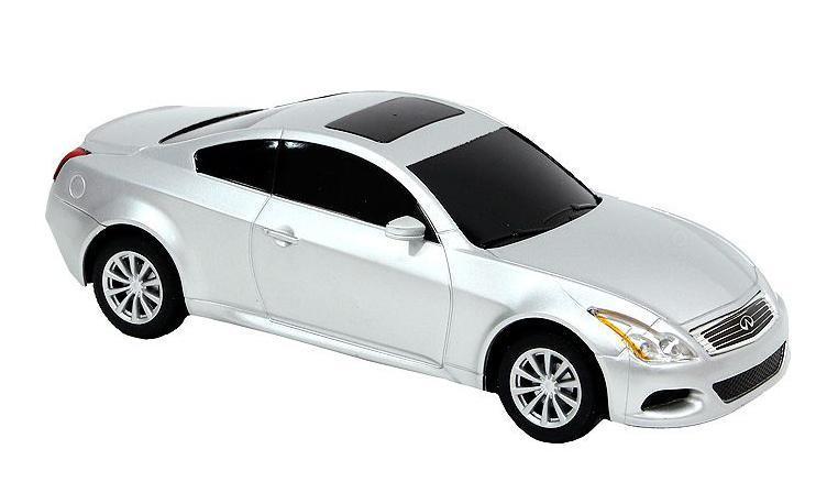 Rastar Радиоуправляемая модель Infinity G37 Coupe цвет серебристый масштаб 1:24