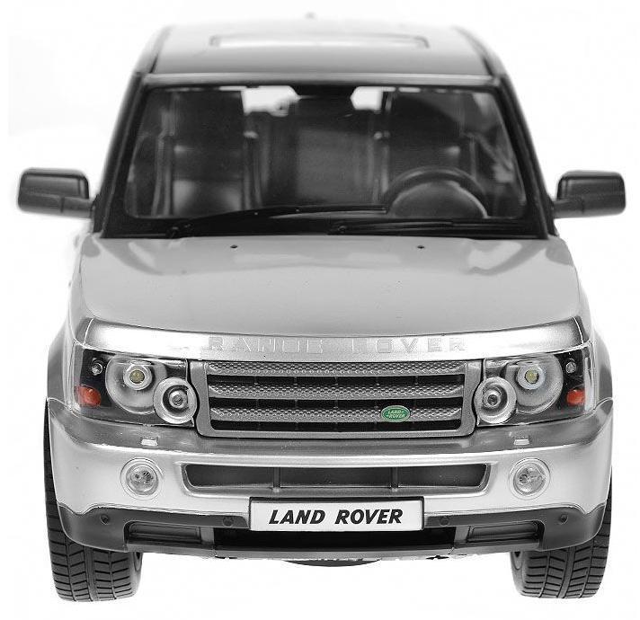 Rastar Радиоуправляемая модель Range Rover Sport цвет серебристый масштаб 1:14  rastar радиоуправляемая модель range rover evoque цвет красный масштаб 1 24