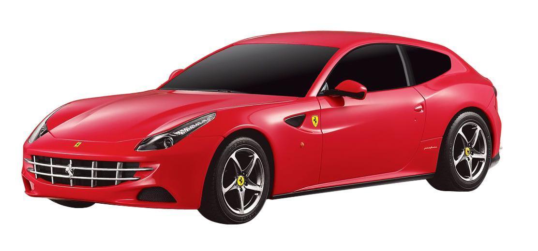 Радиоуправляемая модель Ferrari FF, цвет: красный. Масштаб 1/24 радиоуправляемая модель ferrari ff цвет красный масштаб 1 24
