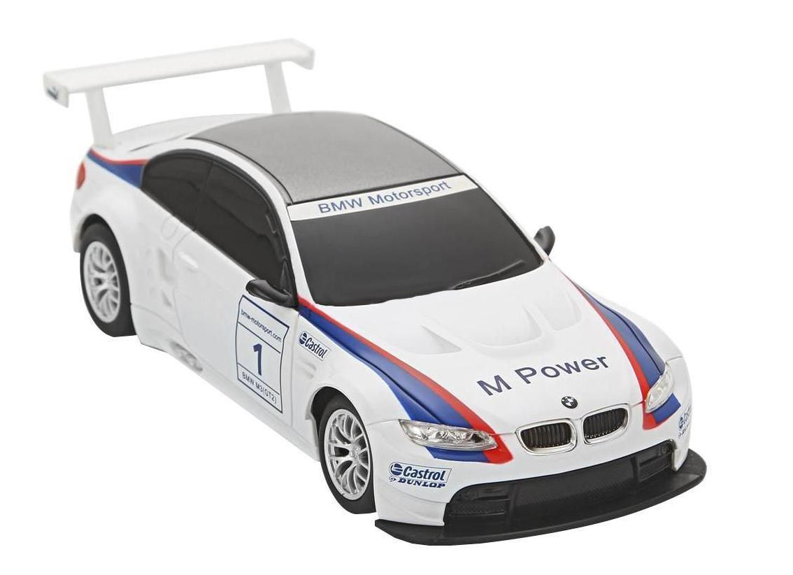 Rastar Радиоуправляемая модель BMW M3 цвет белый