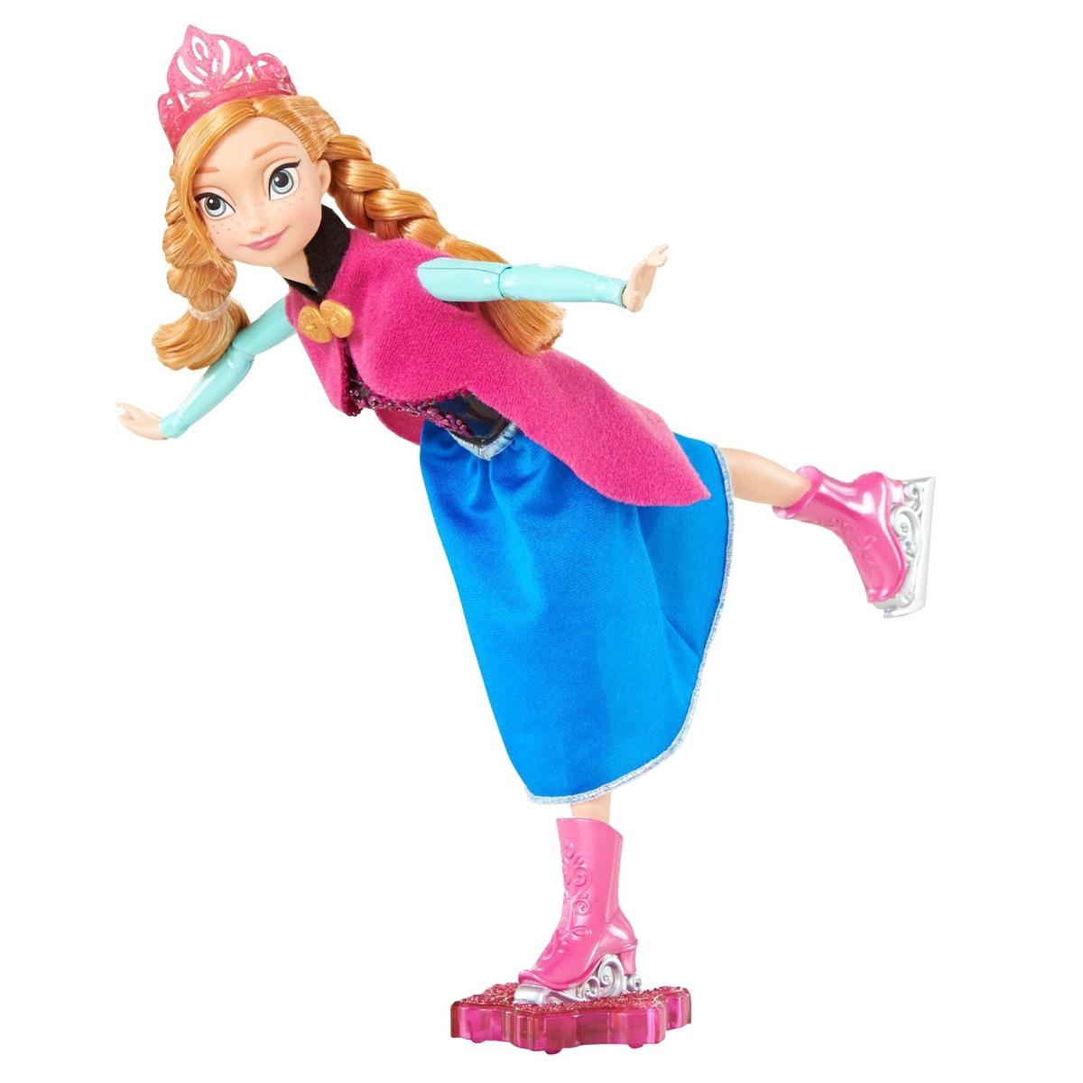 Disney Princess Кукла Холодное сердце Фигуристка Анна кукла мини анна disney princess