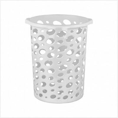 Корзина для мусора Сорренто 12лМ2055Корзина для мусора Сорренто изготовлена из высококачественного пластика. Вы можете использовать ее для выбрасывания разных пищевых и не пищевых отходов. Корзина имеет отверстия на стенках и сплошное дно. Корзина для мусора поможет содержать ваше рабочее место в порядке.