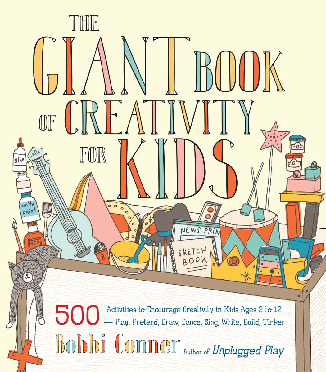 The Giant Book of Creativity for Kids managerial creativity
