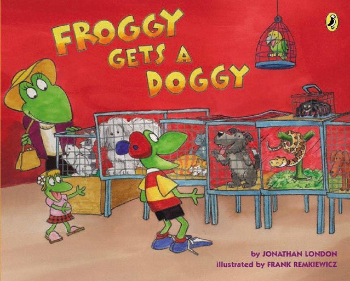 цена на FROGGY GETS A DOGGY
