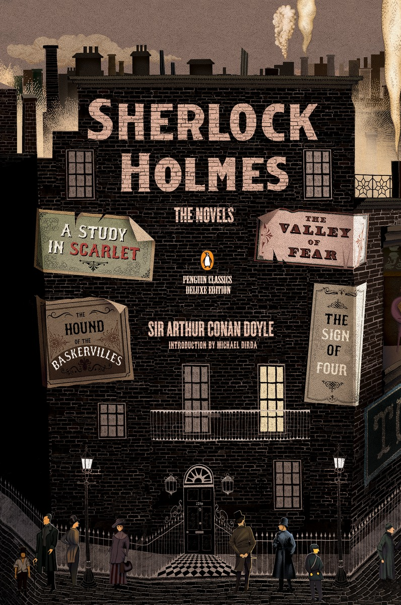 SHERLOCK HOLMES: THE NOVELS doyle a c the valley of fear and the case book of sherlock holmes книга на английском языке