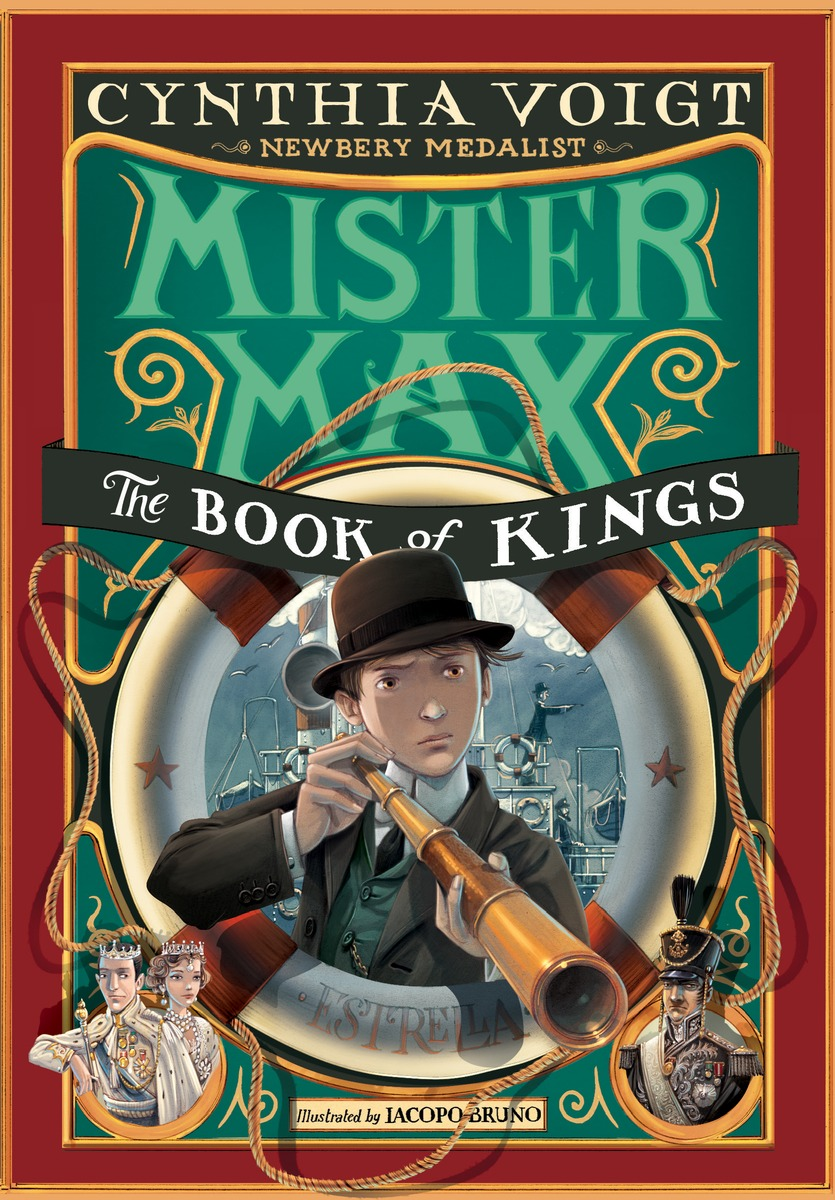 MISTER MAX: THE BOOK OF KINGS his royal whiskers