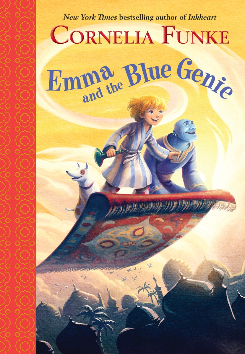 EMMA AND THE BLUE GENIE 6924 magic ring phantom impregnable fortress magic set white blue