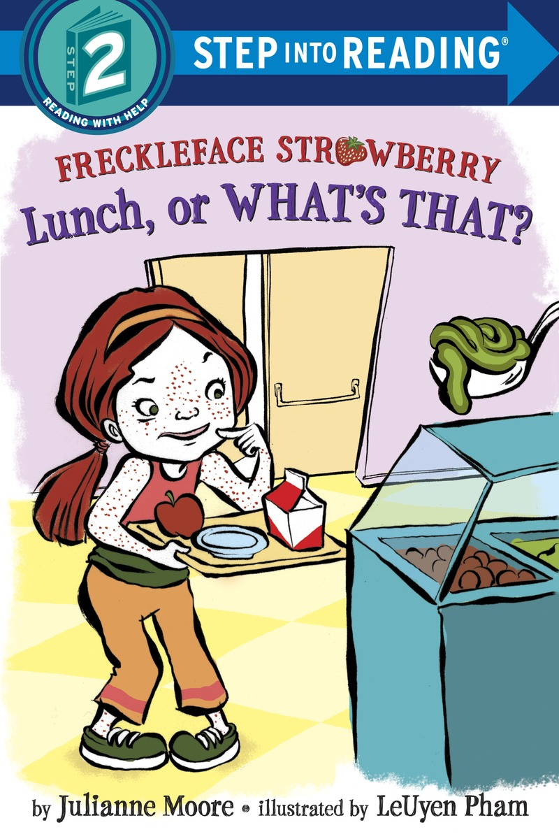 Freckleface Strawberry: Lunch, or What's That? Step 2 lunch box