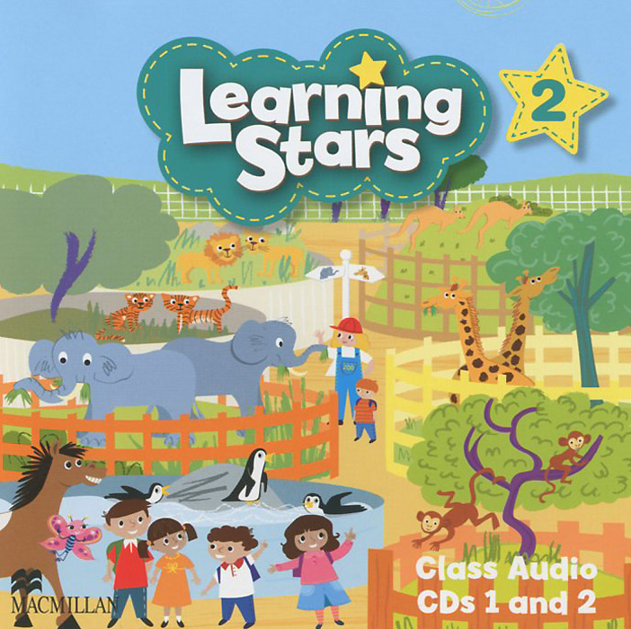 Learning Stars: Level 2: Class Audio CDs (аудиокурс на 2 CD) super safari level 2 class audio cds 2