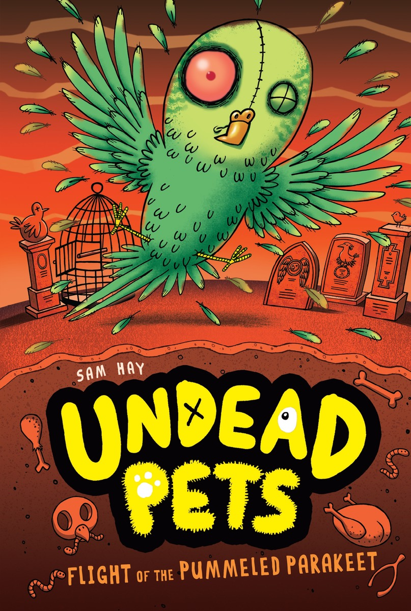 UNDEAD PETS 6 PUMMELD PARAKEET poems of the dead and undead