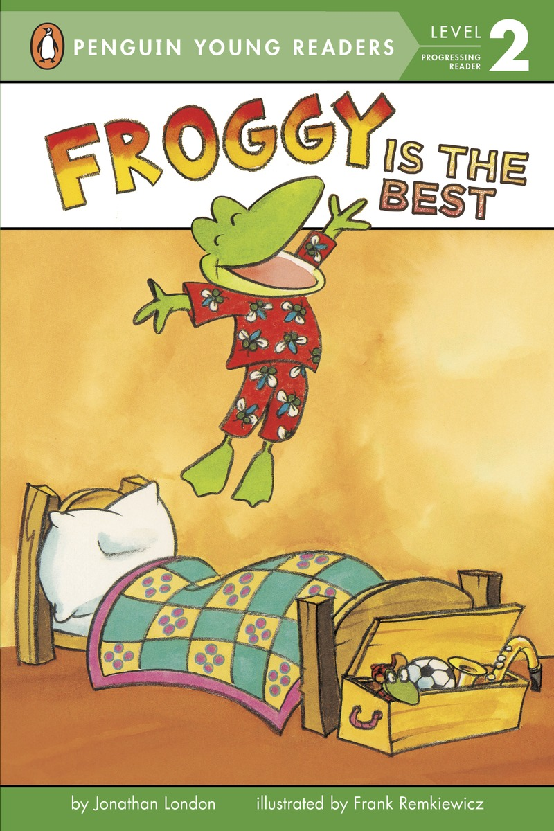 FROGGY IS THE BEST froggy goes to the library