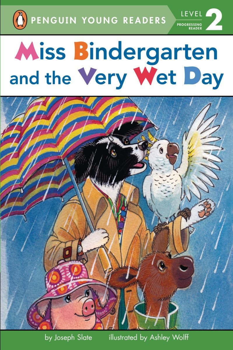 MISS BINDERGARTEN AND THE VERY slate joseph miss bindergarten wet day exp