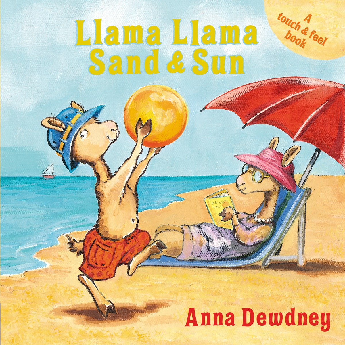 LLAMA LLAMA SAND AND SUN summer can be folded anti uv sun hat sun protection for children to cover the sun with a large cap on the beach bike travel