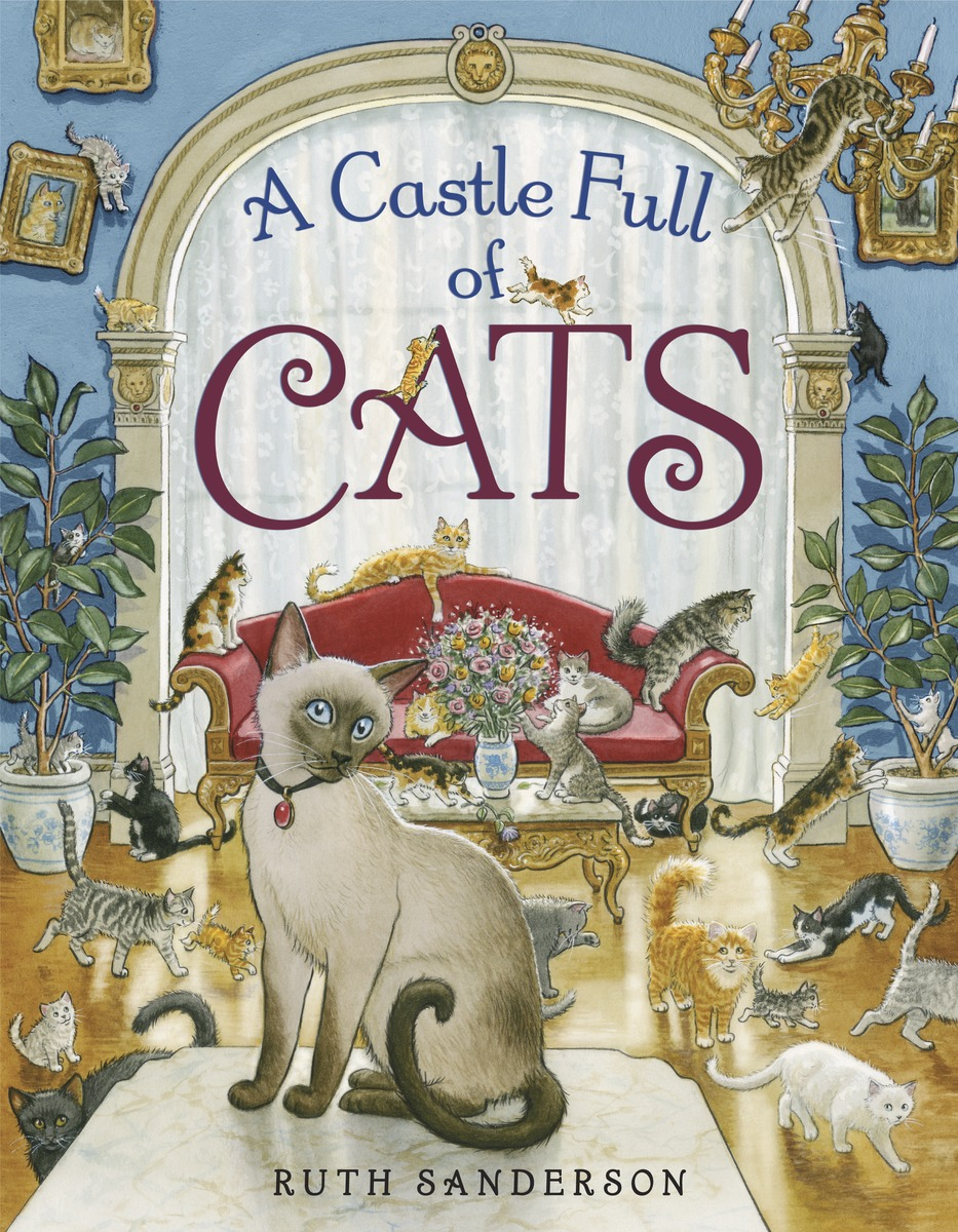 A Castle Full of Cats a cat a hat and a piece of string