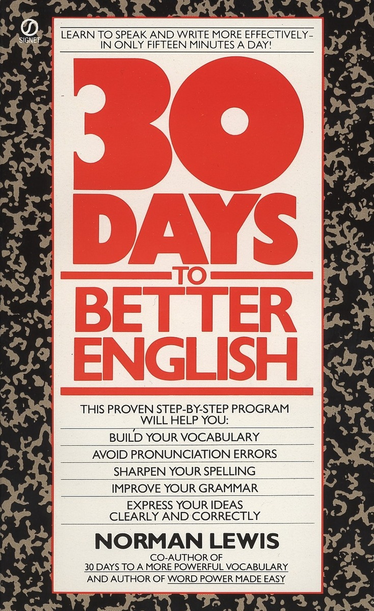 30 Days to Better English found in brooklyn