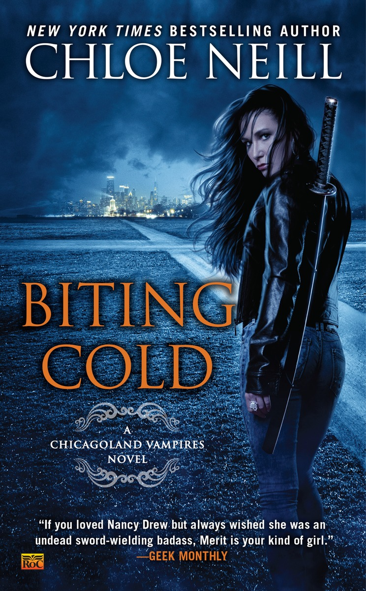 BITING COLD what she left