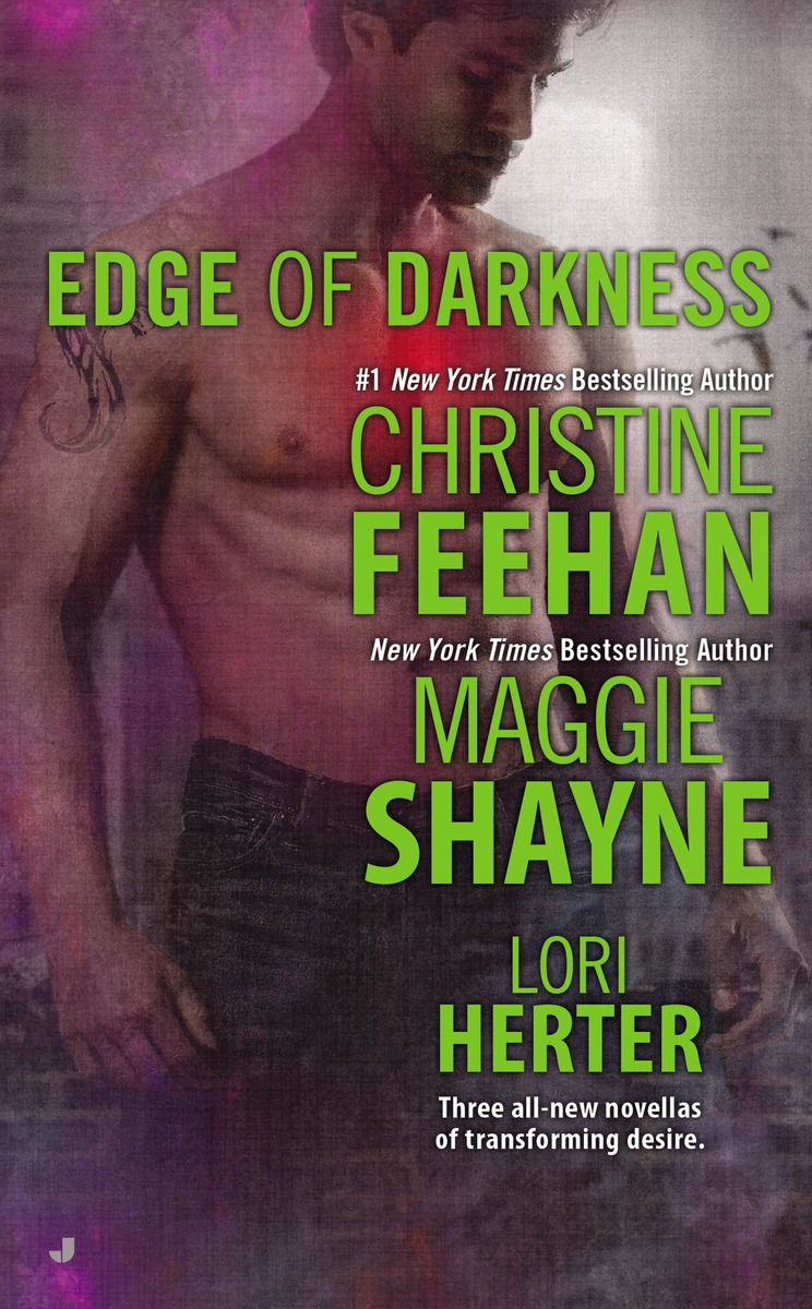 EDGE OF DARKNESS  feehan christine edge of darkness