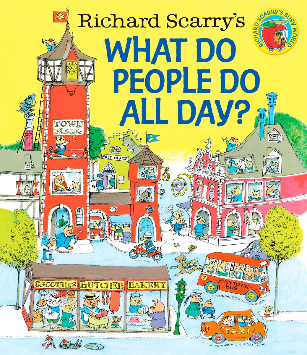Купить WHAT DO PEOPLE DO ALL DAY?
