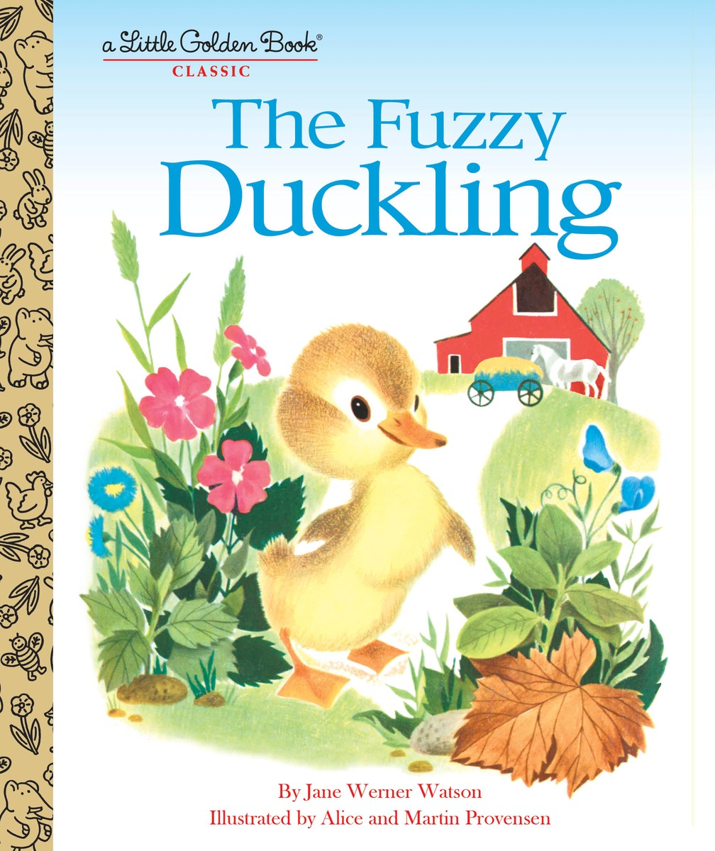 The Fuzzy Duckling the little book of batman