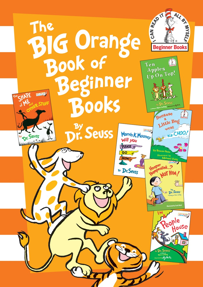 The Big Orange Book of Beginner Books out of this world dr seuss cat in the hat page 7
