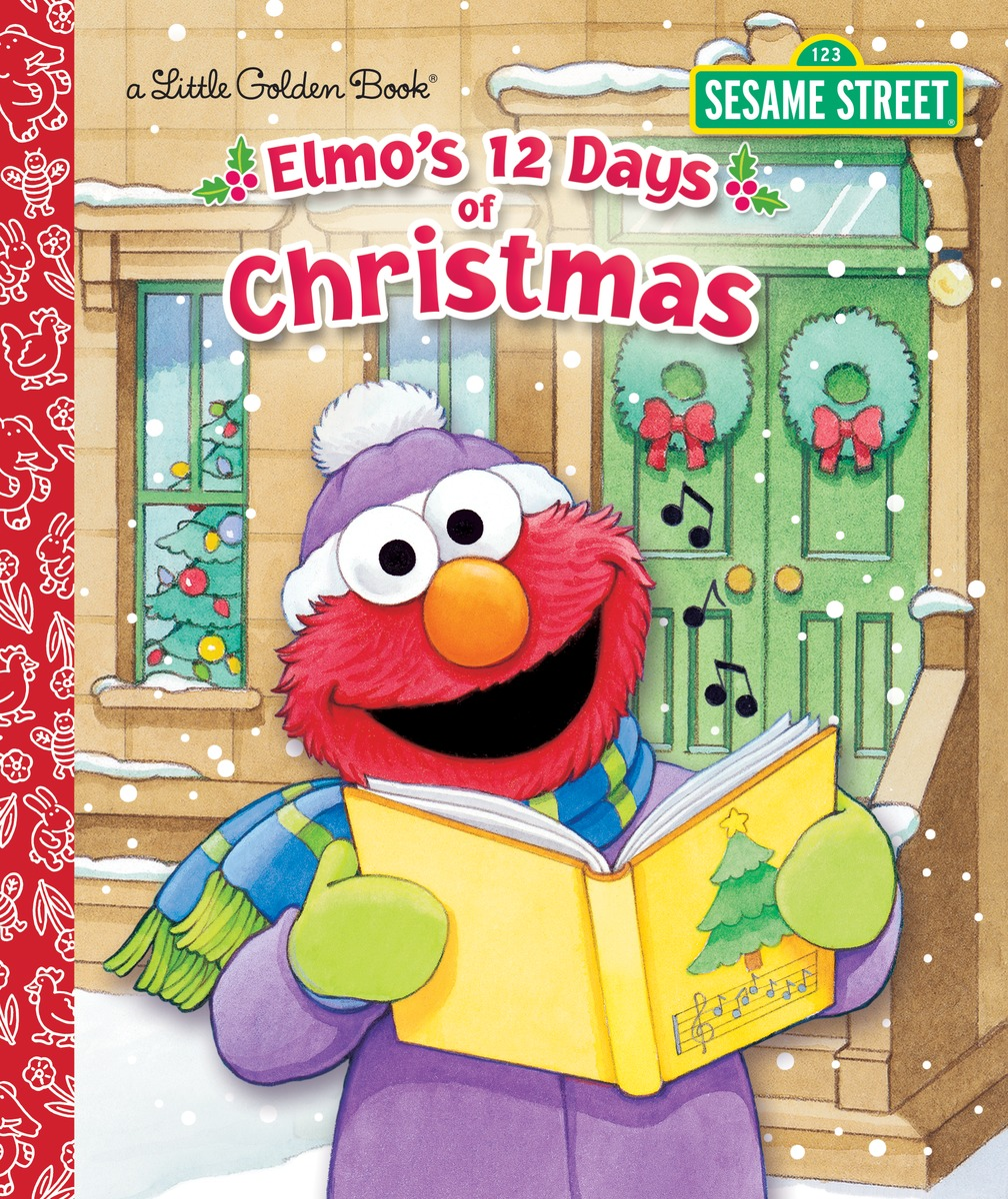 ELMO'S 12 DAYS OF CHRISTMAS sizzix eclips cartridge 12 days of christmas shapes