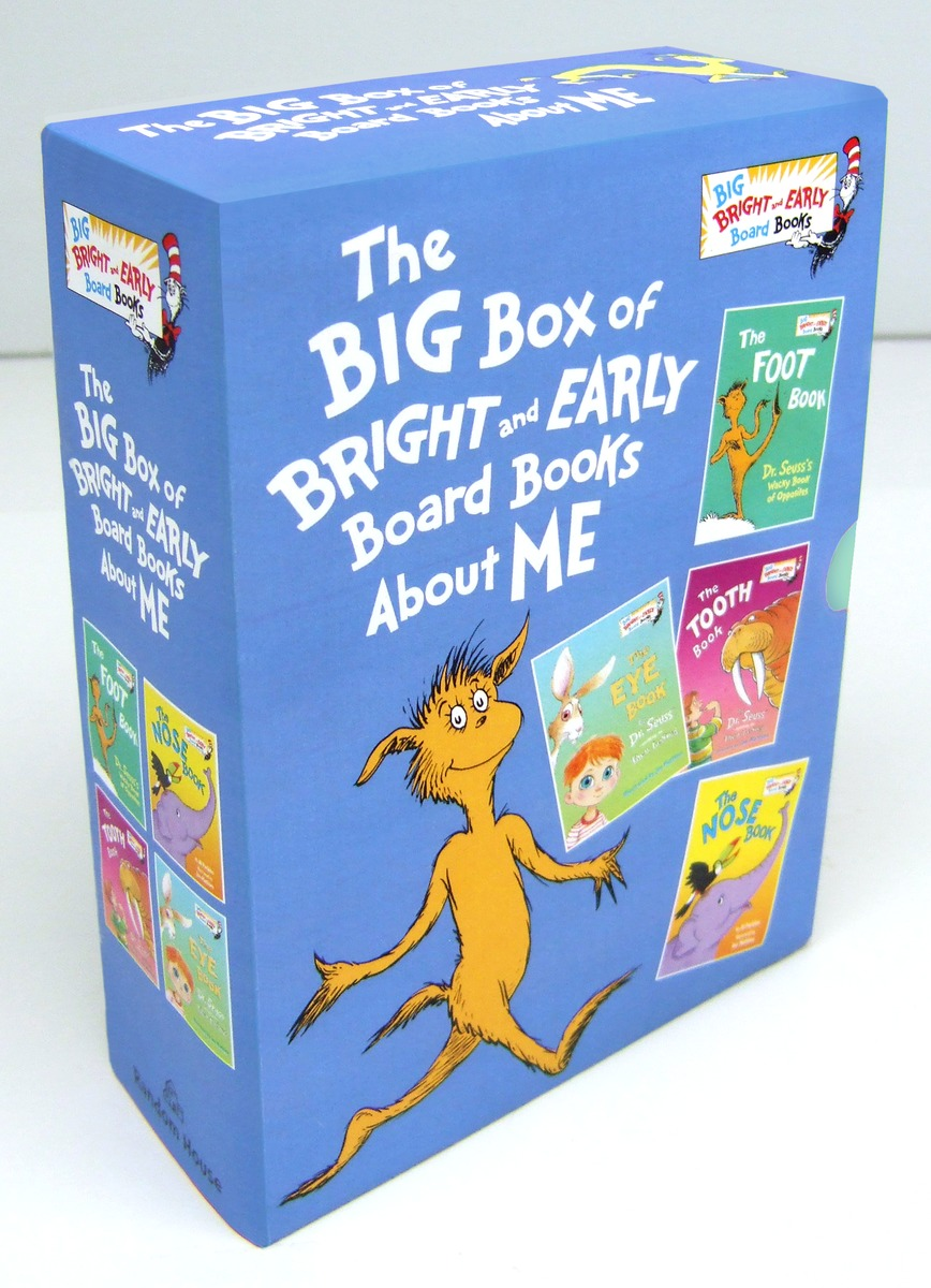 BIG BOX OF B&E BOARD BOOKS dr seuss bilingual classical books a set of 8 volumes for children improvement edition english and simplifiedchinese hardcover