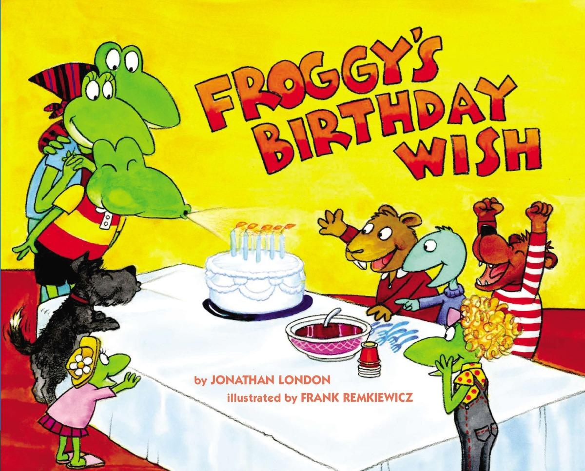 Купить FROGGY'S BIRTHDAY WISH,