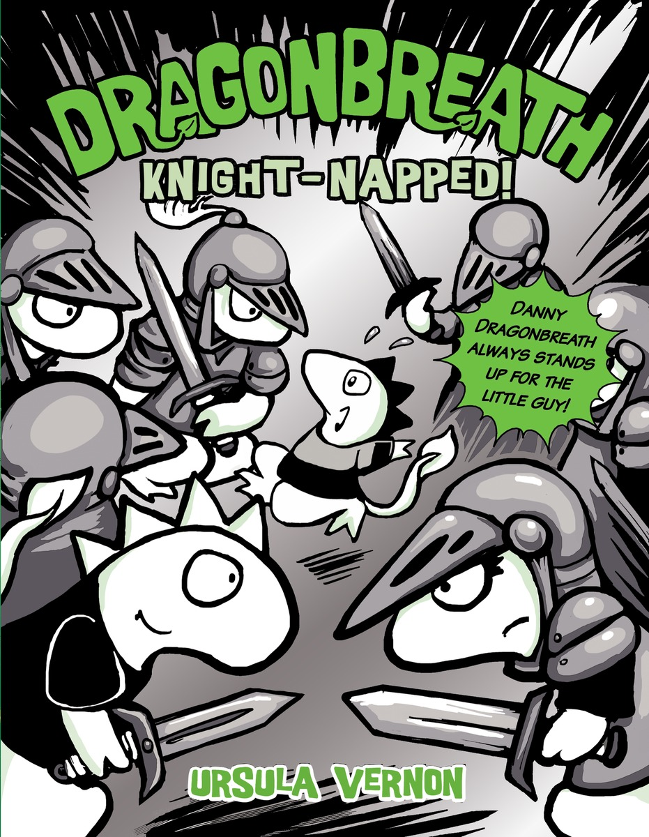 DRAGONBREATH #10 king arthur and his knights