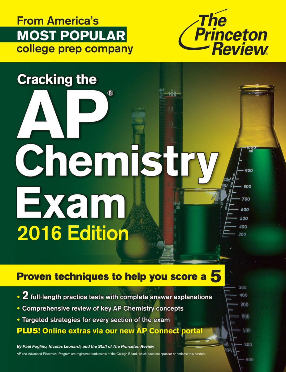 CRACK AP CHEMISTRY 2016 a fundamental concepts on molecular biology of cancer