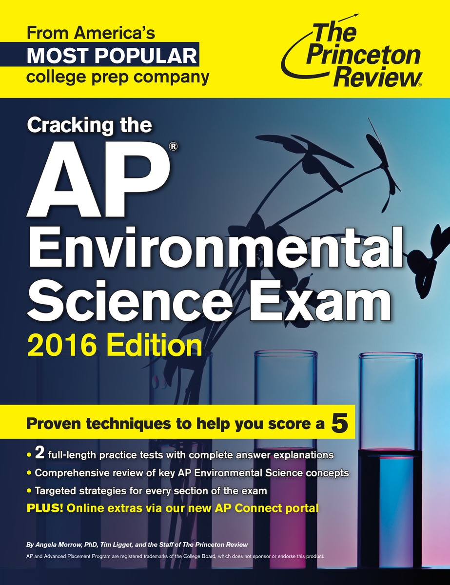 Cracking the AP Environmental Science Exam alecia spooner m environmental science for dummies